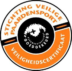 Veiligheidscertificaat Manege De Rietweg Bronneger